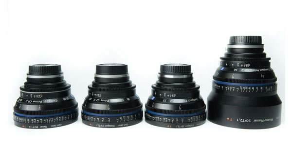 Zeiss CP.2 4-Lens Kit